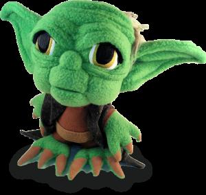 Yoda Stitch doll
